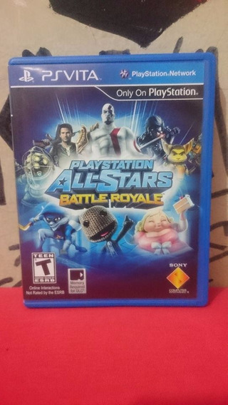 Playstation All-stars Battle Royale Ps Vita Frete R$10