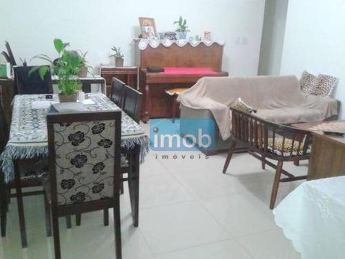 Casa Com 3 Dormitórios À Venda, 100 M² Por R$ 680.000,00 - Marapé - Santos/sp - Ca0542