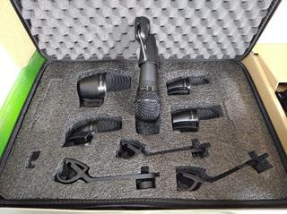 Kit De Microfonos Para Bateria Shure Pga Drum
