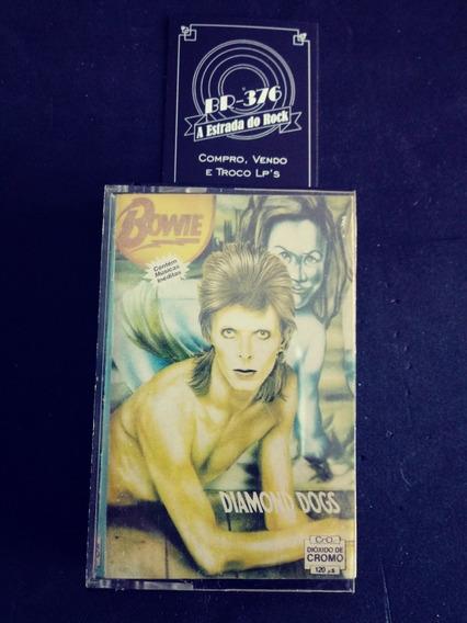 Fita K7 David Bowie - Diamonds Dogs