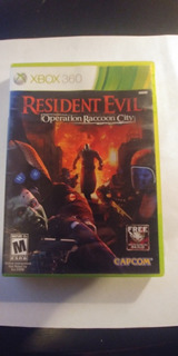 Resident Evil Operation Raccoon City Xbox 360 Seminuevo