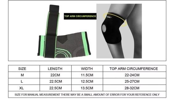 Codera Compresión Doble Gym Crossfit Fitness Codo