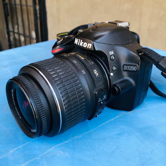 Nikon D3200 Vr Kit 18-55mm + Memoria 16gb