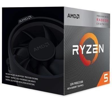 Processador Amd Ryzen 5 3400g Quad-core 3.7ghz Max 4.2ghz