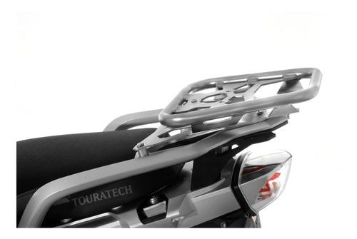 Imagem 1 de 2 de Suporte Em Aço Inox P/ Topcase Zega Pro P/ Bmw F800gs/f700gs