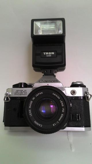Máquina Fotográfica Canon Ae - 1