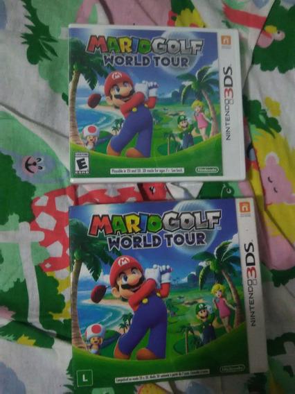 Mario Golf Wolrd Tour 3ds Original Novo
