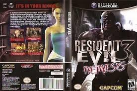 Resident Evil 3 Nemesis/game Cube+ Memory Card
