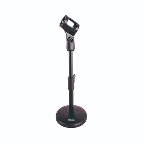 Pedestal Suporte Mesa P/ Microfone Portátil Studio Radio