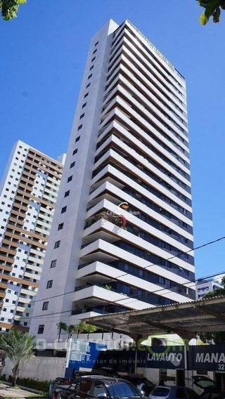 Apartamento Com 4 Dormitórios À Venda, 264 M² Por R$ 1.298.000 - Manaíra - João Pessoa/pb - Ap2498