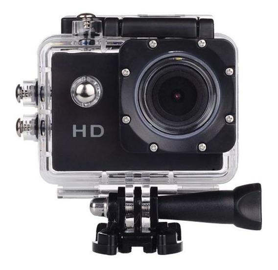 Filmadora Hd 1080p Câmera Digital Esporte Mergulho Capacete
