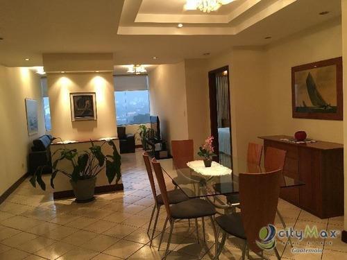 Alquilo Apartamento Amueblado En Zona 10 - Paa-038-11-12