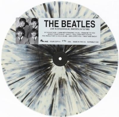 Vinilo Lp Disco The Beatles Live In Stockholm Sweden 1963