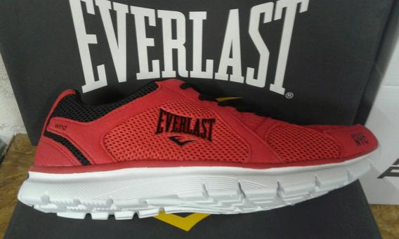 Tênis Everlast Original Masc Vermelho Frete Gratis