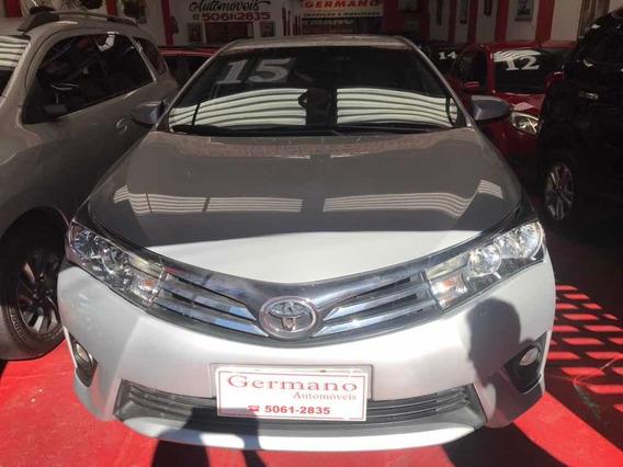 Toyota Corolla 2015 2.0 16v Xei Flex Multi-drive Prata 14/15