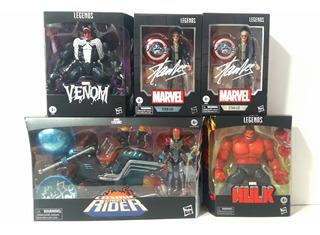 Marvel Legends Stan Lee - Venom - Red Hulk- Ghost Rider