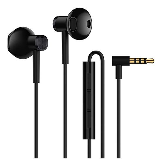 Auriculares Xiaomi Mi Dual Drivers Earphones Negro