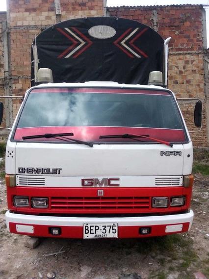 Chevrolet Npr Turbo 7ton 1995 Estacas Excelente