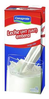 Leche Entera Larga Vida Conaprole 1l