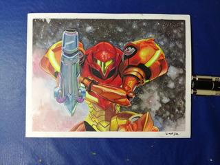 Dibujo De Metroid Prime