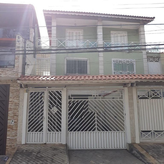 Sobrado 04 Dormitórios E 02 Vagas À Venda, Vila Carmosina, São Paulo. - So14216