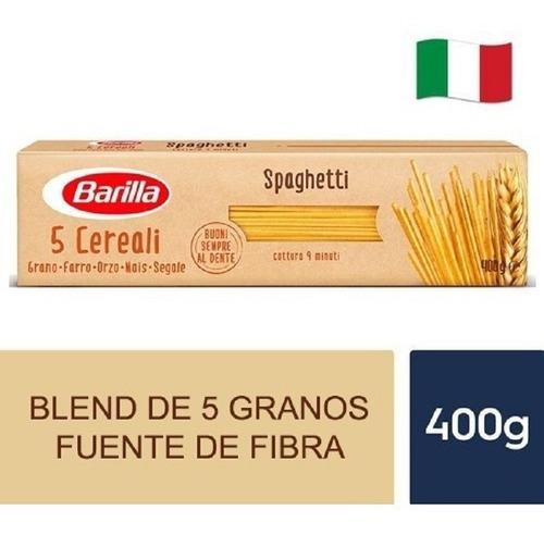 Imagen 1 de 1 de Spaghetti Barilla 5 Cereales