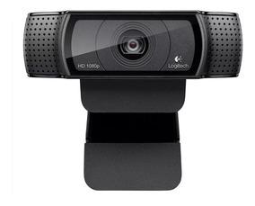 Câmera Web Logitech C920 Full Hd 1080p Dois Microfones 15mp