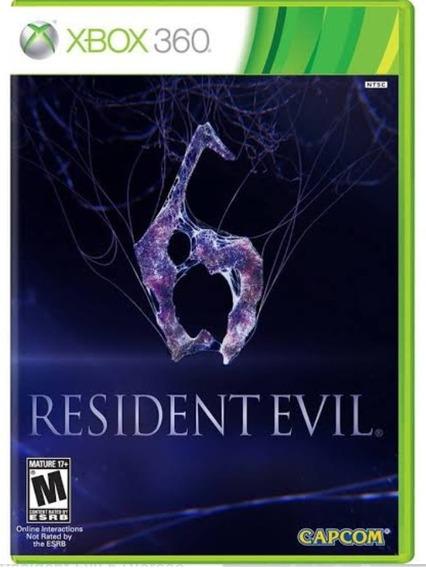 Resident Evil 6 - Xbox 360 - Mídia Digital