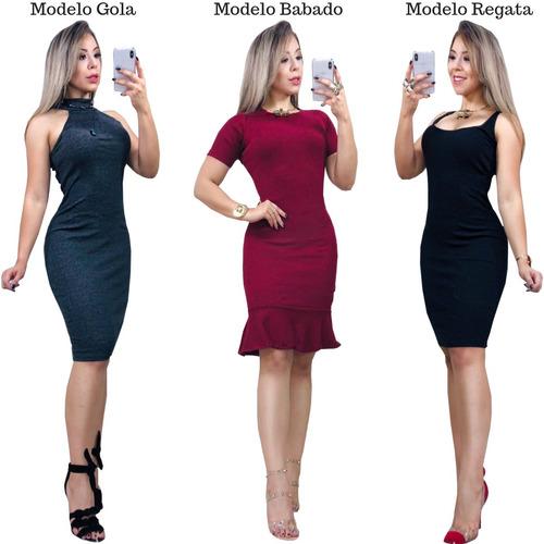 9c29e097cf Regata Cavada Com Gola Alta Feminina - Vestidos no Mercado Livre Brasil