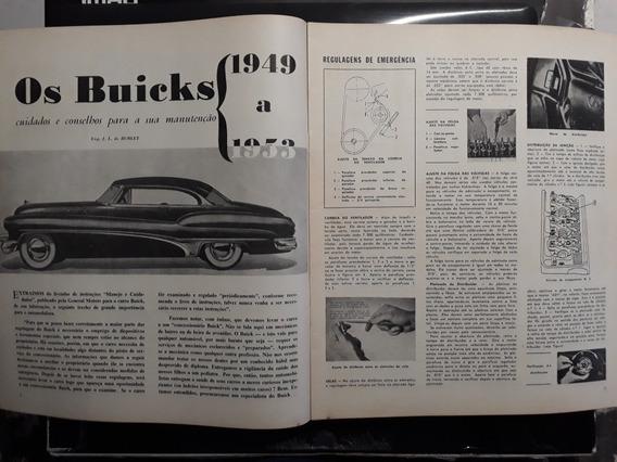 Revista 1955 Capa Marly Fernandes E Belair ) Buick Cabriolet
