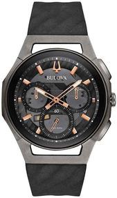 Relógio Bulova Masculino Curv Precisionist 98a162 *titânio
