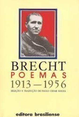 Livro Brecht Poemas 1913-1956 - 2ªed Bertolt Brecht