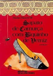 Sapato De Camurça Com Biquinho De Verniz Mazzetti, Maria