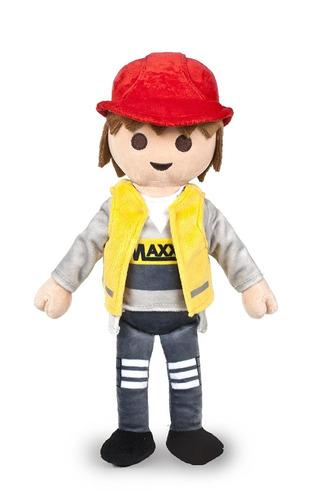 Playmobil Peluche Policia Pirata Vaquero Bombero Caballero