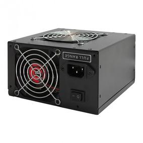 Fonte Gamer K-mex Pt500eug 500w Cooler Com Cabo Auto Switch