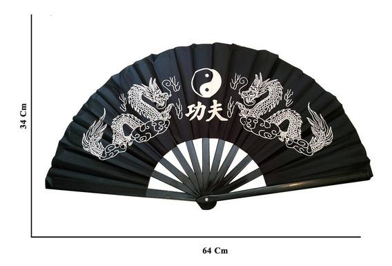 Leque Oriental Grande Dança Kung Fu Taí Chi Chuan