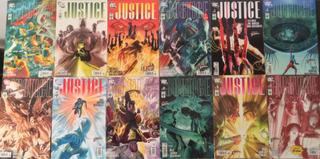 Dc Justice (justicia) Maxiserie Completa.