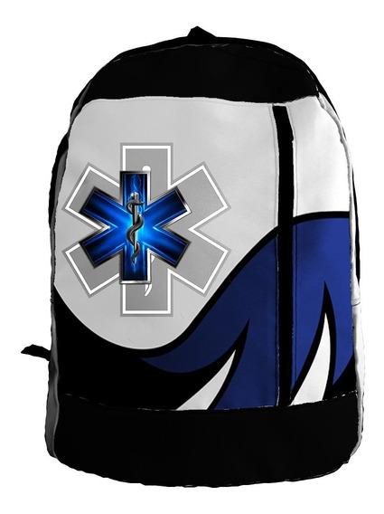 Mochila Zt - Mzt-0586 - Emergencias Medicas (paramedicos)