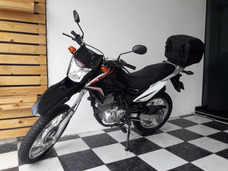 Honda Nxr 150 Bros Es 2014 Preta Tebi Motos