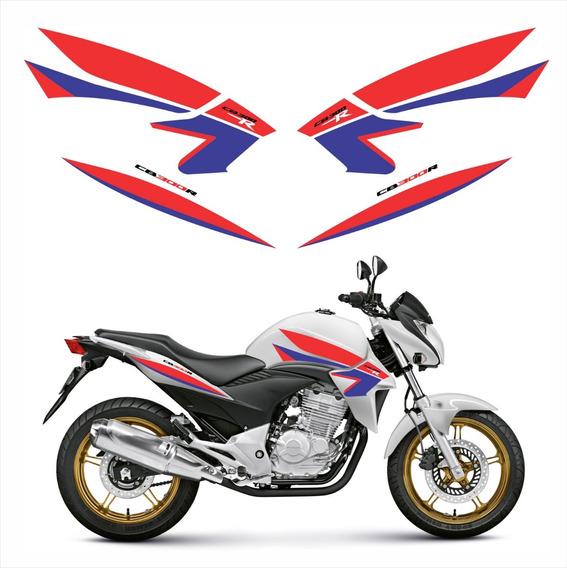 Adesivo Emblema Faixa Compatível Cb 300r 2015 Personalizado