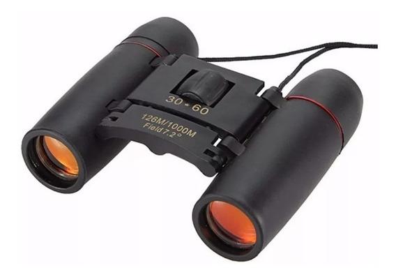 Binóculo 30x60 Zoom Óptico Membrana Vermelha