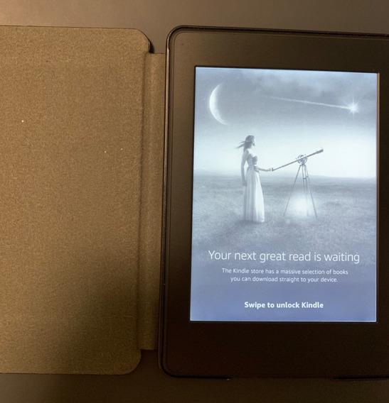 Kindle, Aparelho Para Leitura De Livros, Preto, Impecável!