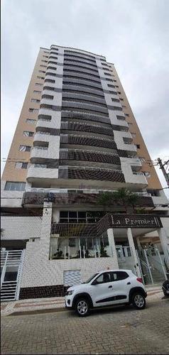 Apartamento Com 2 Dormitórios À Venda, 63 M² Por R$ 310.000,00 - Vila Guilhermina - Praia Grande/sp - Ap1340