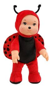 Joaninha Amiguinho Da Floresta - Anjo Brinquedos- 28cm