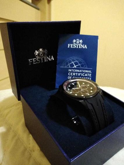 Relógio Festina F16610 Pouco Usado Vale Apena Conferir Origi