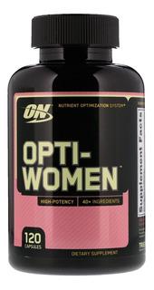 Multivitamínico Opti-women 120 Cps - Importado Eua
