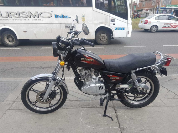 Suzuki Gn 125 Modelo 2014