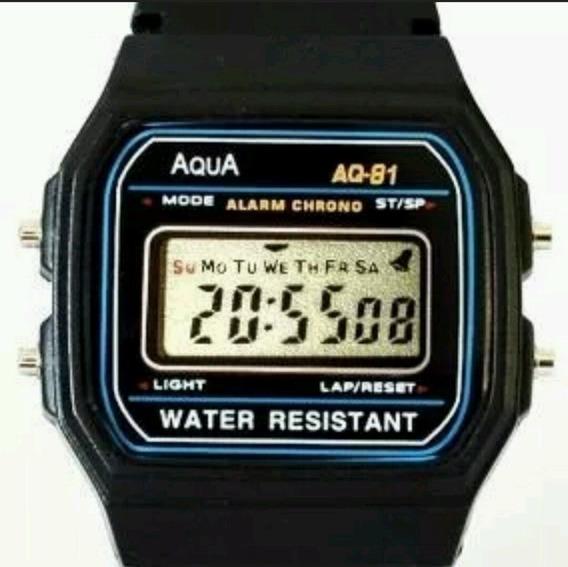 Relógio Digital Aqua Prova D Agua Presidente