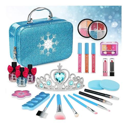 Set De Maquillaje Para Niña No Toxico Frozen