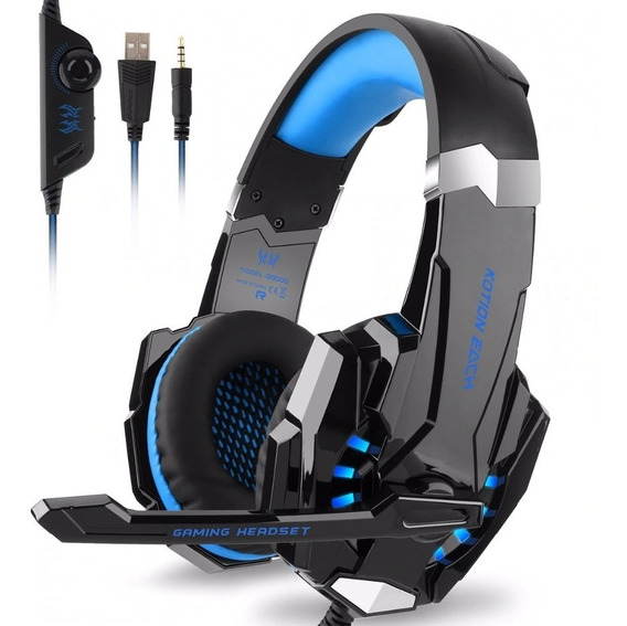 Auricular Gamer Ps4 Pc Xbox Headset G9000 Sonido Hd 7.1 + Microfono